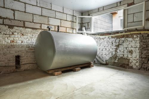 heating oil tank size